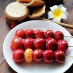 自制冰糖葫芦(零食菜谱)