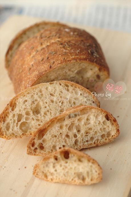 三明治黑麦面包