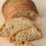 三明治黑麦面包(早餐菜谱-5分钟面包)