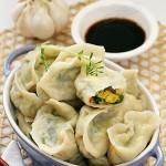 海米韭菜鸡蛋水饺(早餐菜谱)