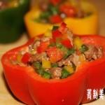 彩椒牛肉粒(葷菜菜譜)