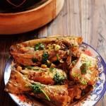 酱焖扒皮鱼(海鲜菜谱)