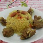 正宗新疆羊肉手抓饭(新疆风味小吃菜谱)