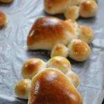 小脚印面包(早餐菜谱)