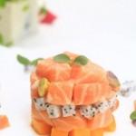 香果挪威三文鱼(海鲜菜谱)