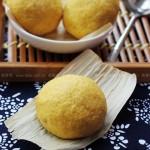 槐花菜饼子(早餐菜谱)