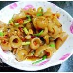 剁椒炒肉皮(葷菜菜譜)