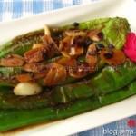 虎皮青椒(家常菜谱)