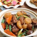 竹蔗馬蹄羊肉煲(葷菜菜譜-不膻的羊肉怎么做)