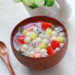 水果小汤圆(早餐菜谱)