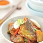 辣燉鲅魚蘿卜(下飯魚肉菜譜)