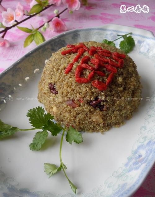 山西藜麦八宝饭
