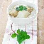 白萝卜猪肺汤(家庭食疗菜谱)