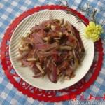 培根洋葱蘑菇(荤素搭配菜谱)