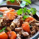 胡蘿卜燒羊腿(葷菜菜譜)