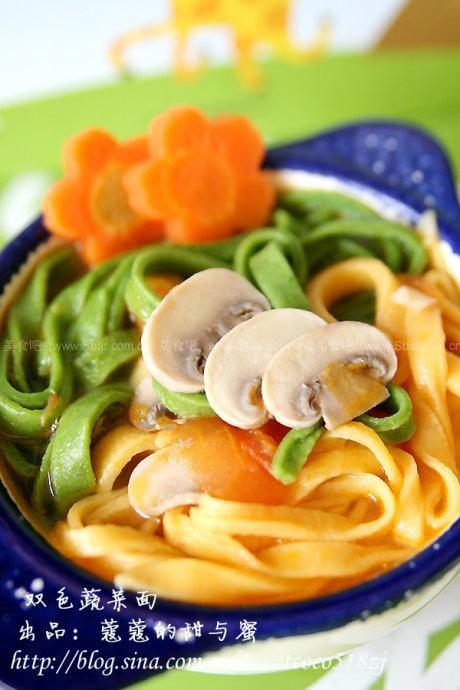 菜谱海参蔬菜(早餐汤面)小孩能不能吃双色图片