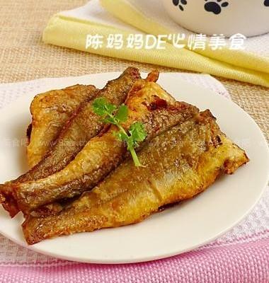 香煎黄花鱼,适合宝宝吃的鱼