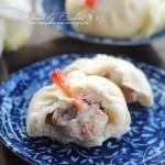 鲜虾肉包(早餐菜谱)