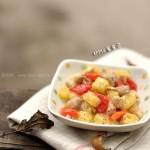 浓香菠萝鸡块(水果菜谱)