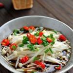 白灼金针菇(素菜菜谱)