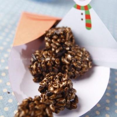 自制巧克力米果