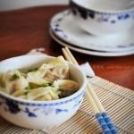 元宝馄饨(早餐食谱-自制馄饨皮)