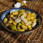 葱拌豆儿(春节家宴菜谱)