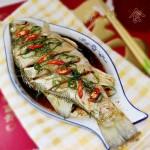 清蒸鲈鱼(清蒸菜谱)