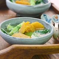 番薯芥菜汤