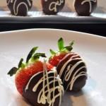 爱心草莓巧克力(情人节菜谱)