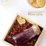 自制玫瑰糖浆(情人节菜谱)