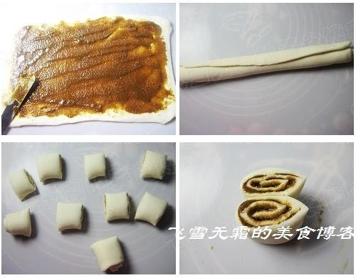 麻酱花卷做法