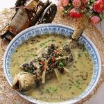 雪菜大汤黄鱼 (浙江风味菜谱)