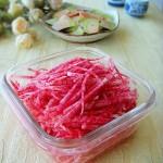糖醋萝卜丝 (开胃小菜菜谱)