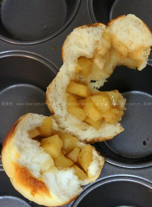 苹果小餐包