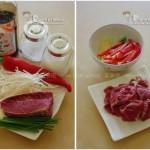 银针牛肉片 (荤素搭配菜谱)