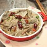 紅棗枸杞蒸豬肝 (葷菜菜譜)