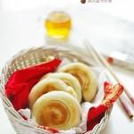 红糖麻酱卷 (早餐菜谱)