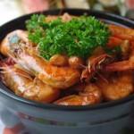 香辣大蝦 (海鮮菜譜)