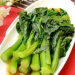 白灼菜心 (5分钟素菜菜谱)