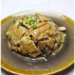 白鲞扣鸡(浙江传统菜谱)