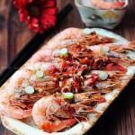 鲜辣粉丝蒸海虾(清蒸菜谱)