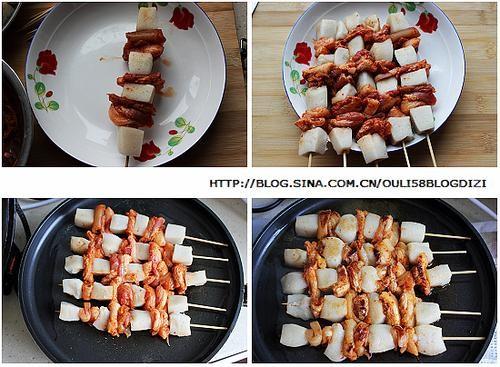 韩式年糕串