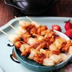 韩式年糕串(风味小吃菜谱-自制年糕)