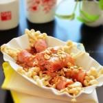 蚝香培根金针卷(5分钟清蒸菜谱)