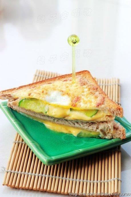 3分钟搞定简易版三明治