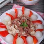 雞肉冬瓜丸(低脂減肥菜譜)