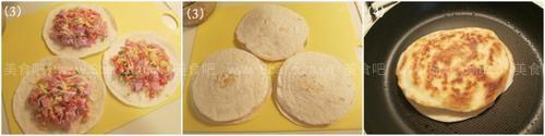 墨西哥芝士火腿饼