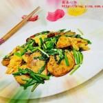 春韭炒土豆(素菜菜谱)