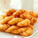 自制香甜脆麻花(零食菜谱)